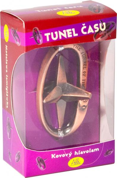 Kovový hlavolam Tunel času