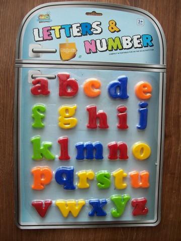 Magnetické písmena (malá abeceda)