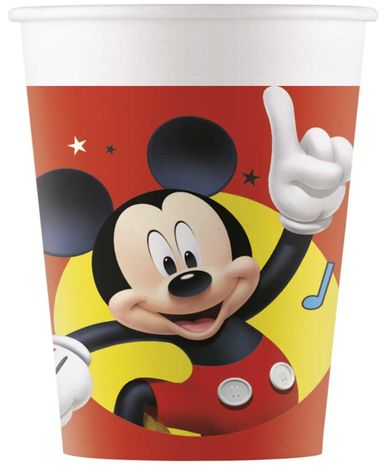 Poháre Mickey 200ml 8ks
